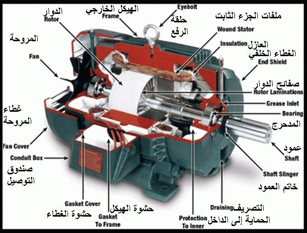 المحرك الكهربائي  Diagra10