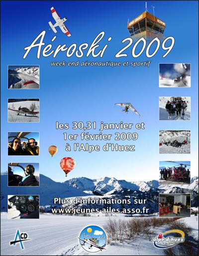 Aéroski 2009 Affich10
