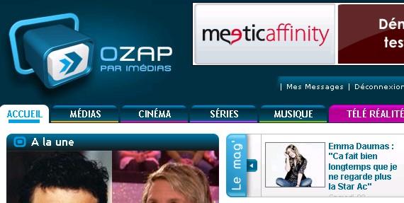 Interviews Presse et vidéo Ozap10