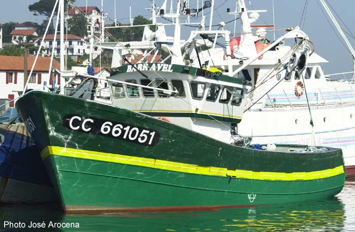 Géolocalisation des sardines en boite Barrav10