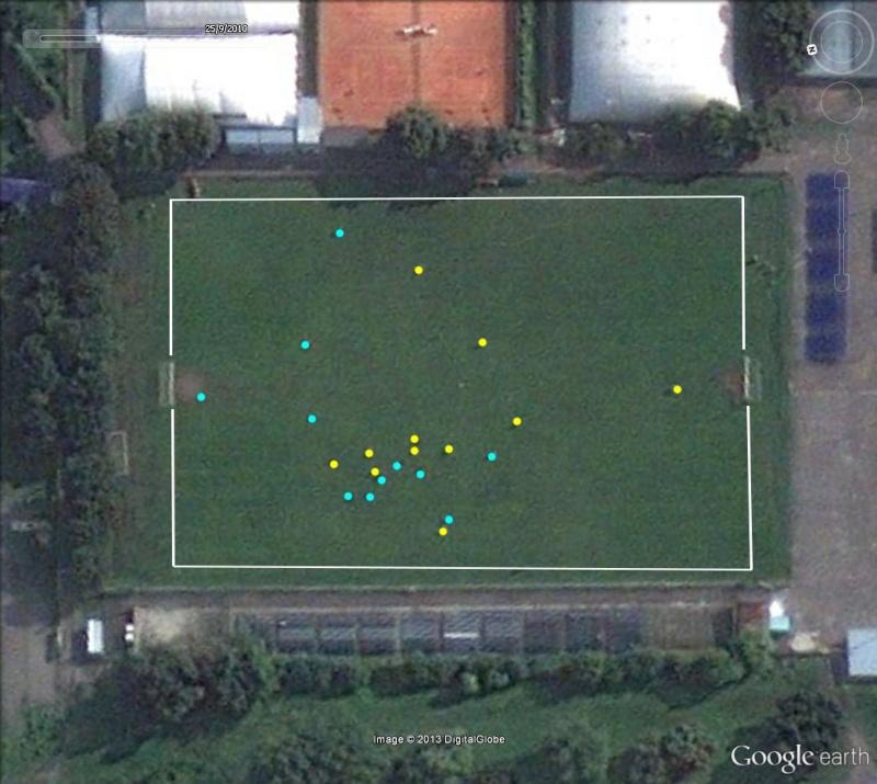 Stratégie sportive vue depuis les airs Foot_d14
