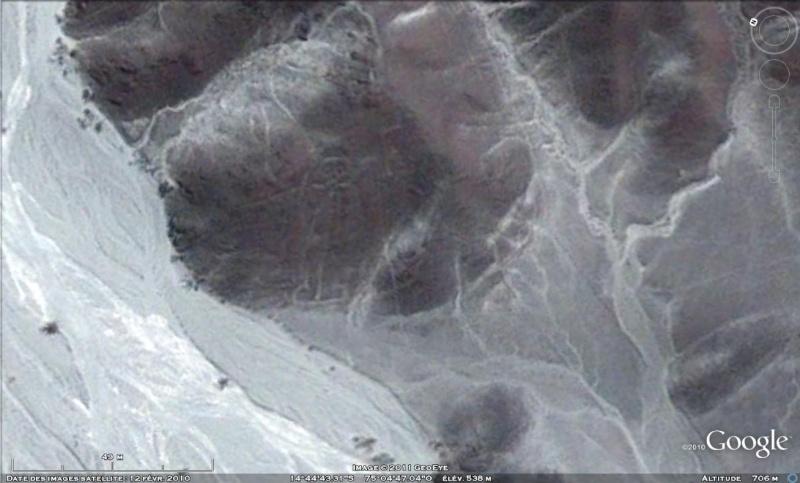 Les Géoglyphes découverts en Amérique du Sud avec Google Earth Astron10