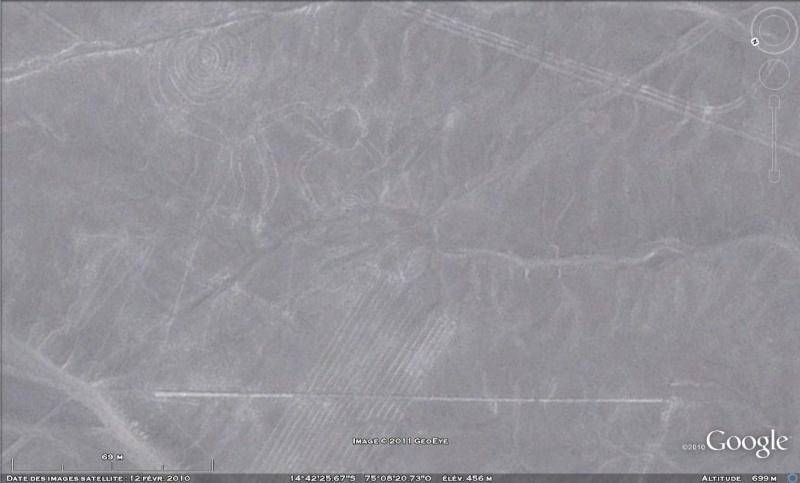 Les Géoglyphes découverts en Amérique du Sud avec Google Earth Nazca_10