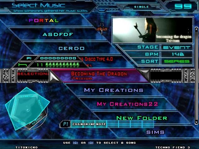 Theme Techno Fiend 3.1 Screen21