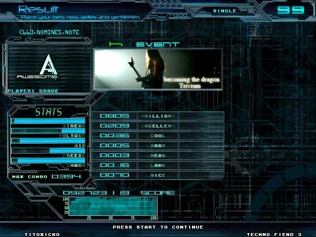 Theme Techno Fiend 3.1 Screen24