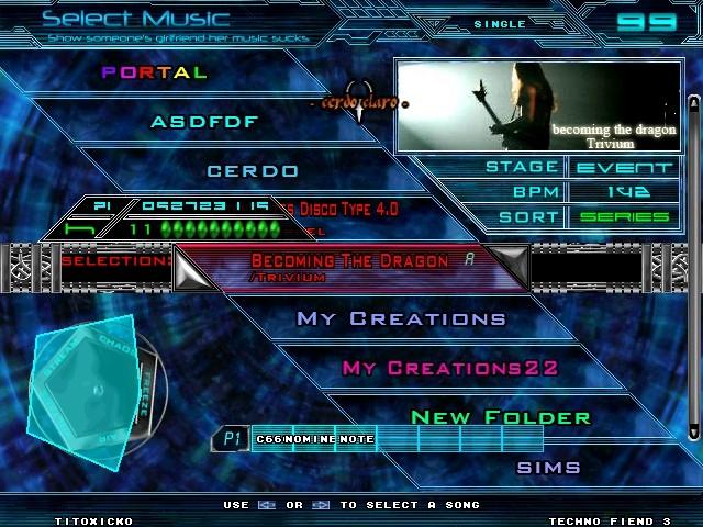 Theme Techno Fiend 3.1 Screen27