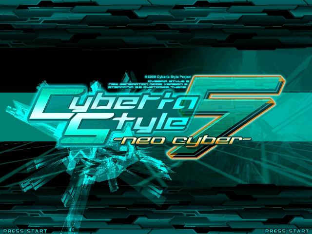 [Theme]Ciberia Style 5 -neo cyber- Screen76
