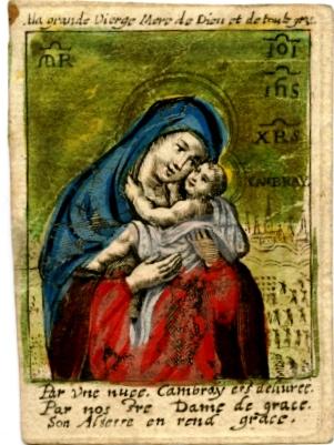 CAMBRAI - San Roque / Nª Sra. de Gracia de Cambrai 1669 (RM SXVII-P79) Grav0011