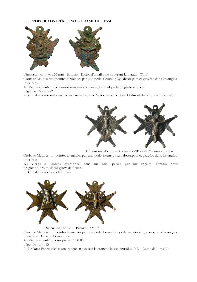 Crucifijo bifaz con pezuelos Ntra. Sra. de  Liesse S-XVII - CC-062 - [Pec030/S-XVII]* Les_cr10