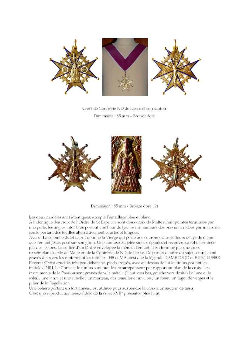 Crucifijo bifaz con pezuelos Ntra. Sra. de  Liesse S-XVII - CC-062 - [Pec030/S-XVII]* Les_cr11