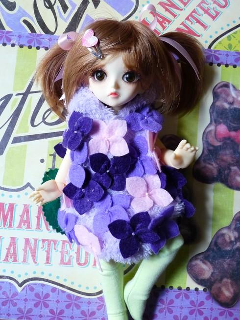 Mes BJD en direct du Japon Fleurs11