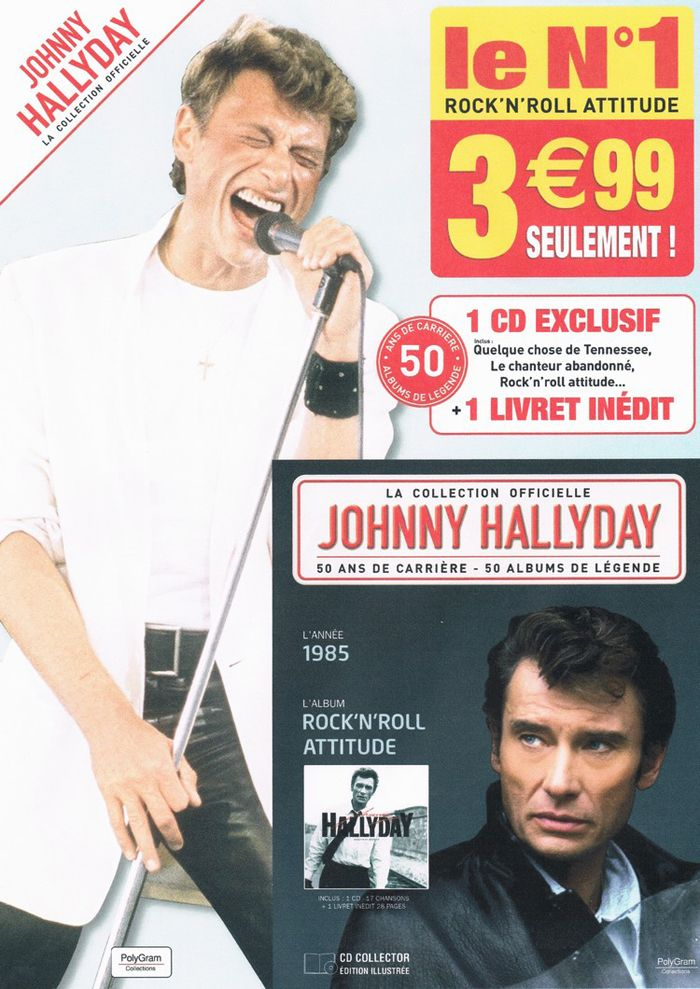 La collection Johnny Hallyday Jhcol410