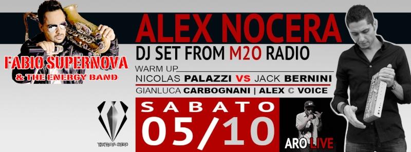 Sabato 05.10 @Campus Industry - Fabio supernova Live & special guest DJ Alex Nocera Copert10