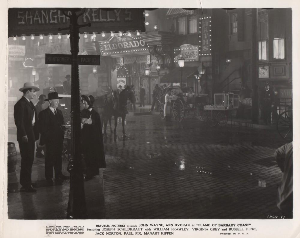 La Belle de San Francisco - Flame of The Barbary Coast  1945 - Page 2 Wayne270