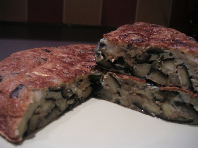 Omelette aux aubergines Auberg10