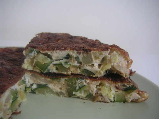 Omelette aux courgettes Courge10