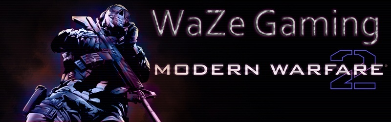 Team WaZe Gaming Modern Warfare 2 / Black Ops