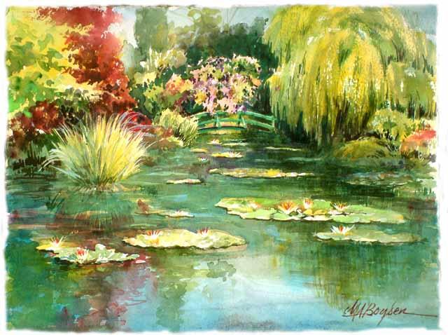 CONTEMPLACION DE IMAGEN IV Monet-10