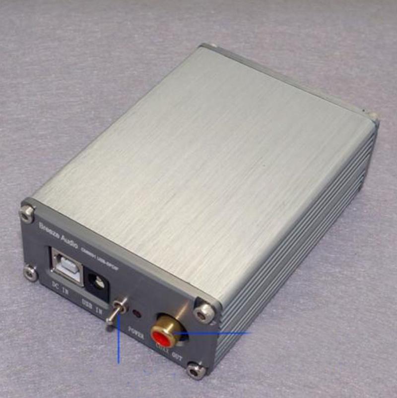 un DAC con USB Asincrona 24-BIT 192 KHz a 50 Euro su Ebay Dac110