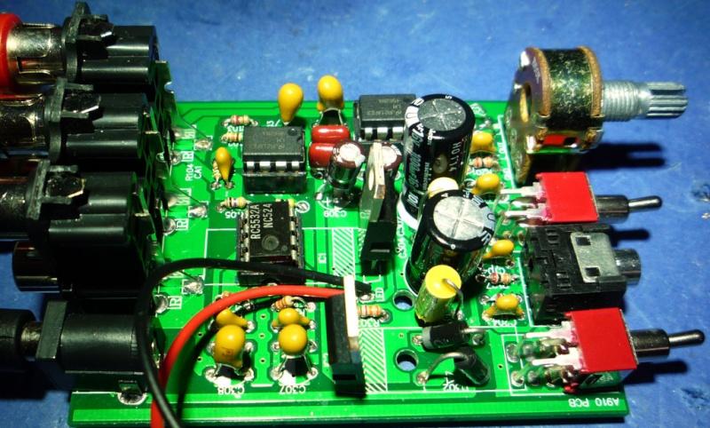 Preampli/amplicuffie supereconomico I Sound A910 28 euro spedito Mod210