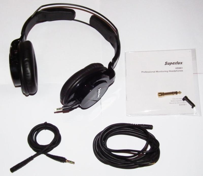 Superlux HD661 altra cuffia chiusa economica in prova Unasp10