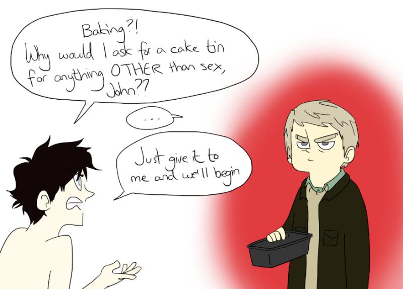 Le Sherlock Fandom est devenu fou Baking11