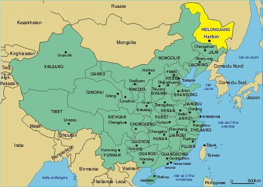Harbin Carte Chine.Harbin In China Prononcez Haaaaaaaaeeeeeerbin