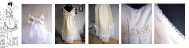 [1916] Robe de jour + lingerie 92319310