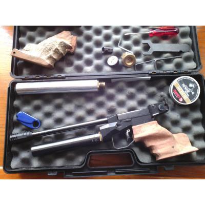 Pstolet à air comprimé Twinmaster modèle MATCH, poignée de  _0000110
