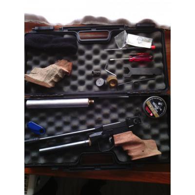 Pstolet à air comprimé Twinmaster modèle MATCH, poignée de  _0000210