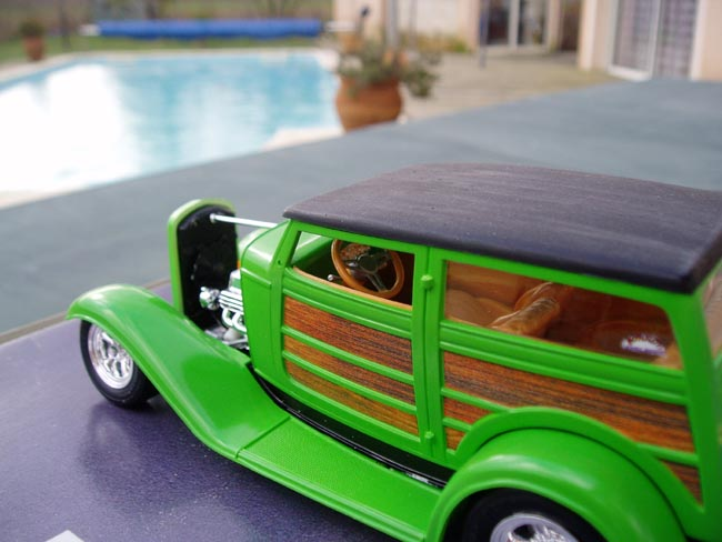 Ford 32 woody marque revell 1/25 Trois_12