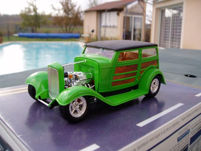 Ford 32 woody marque revell 1/25 Trois_13