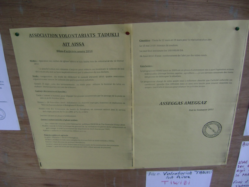 Association Volontariats Tadukli (Ait Aissa, Aokas) Dsc00623