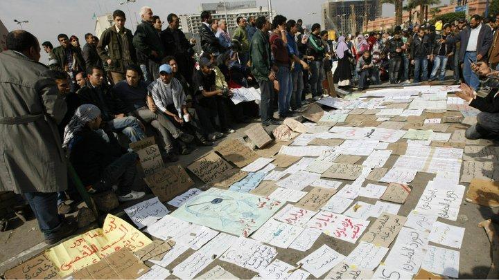 حصريا على منتدى الأرانب للجميع خفة دم الشعب المصرى أثناء المظاهرات مجموعه لن تجدها  الا هنا  02051114