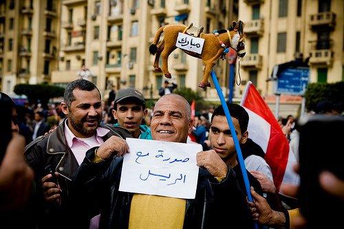 حصريا على منتدى الأرانب للجميع خفة دم الشعب المصرى أثناء المظاهرات مجموعه لن تجدها  الا هنا  16684910