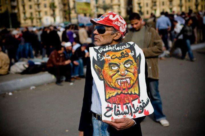 حصريا على منتدى الأرانب للجميع خفة دم الشعب المصرى أثناء المظاهرات مجموعه لن تجدها  الا هنا  16703810
