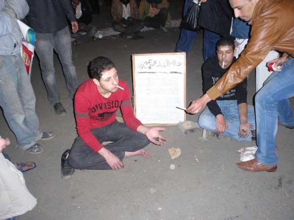 حصريا على منتدى الأرانب للجميع خفة دم الشعب المصرى أثناء المظاهرات مجموعه لن تجدها  الا هنا  38081210