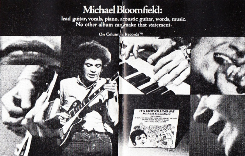 Michael Bloomfield : It's Not Killing Me (1969) 00233c10