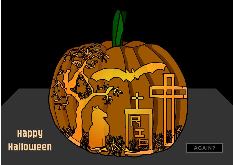 Carve Me a Pumpkin cake! Hallow11