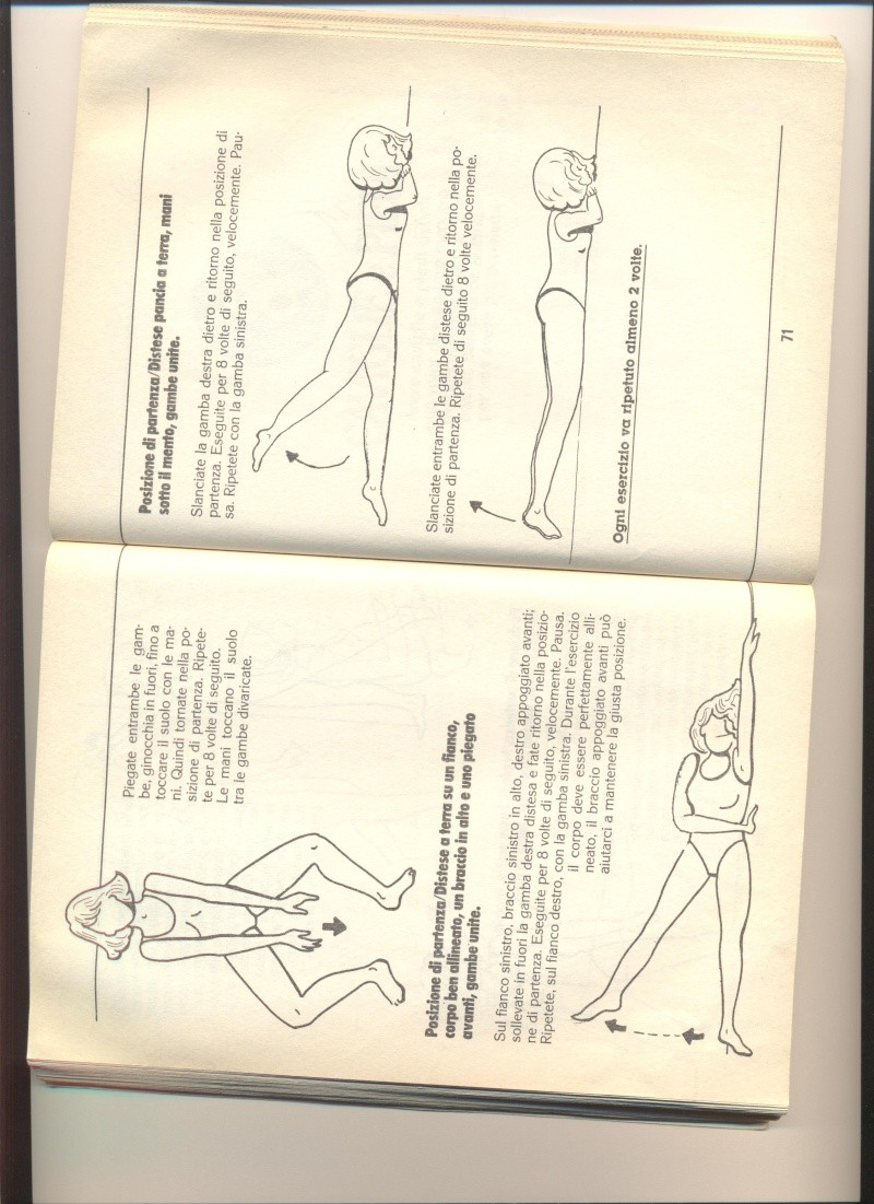 Esercizi per le gambe Cosce510