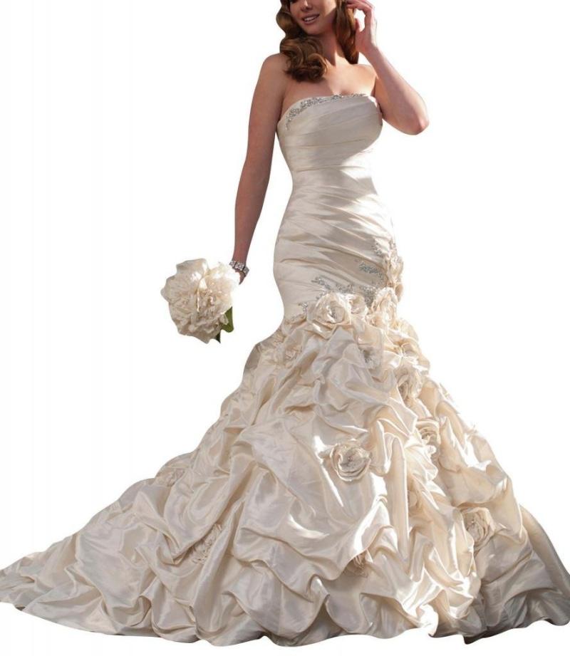 فساتين - احدث فساتين زفاف لهذا العام قمة فى الروعه و الاناقه 61srpe10
