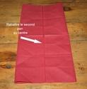 Pliage des serviettes Pliage12