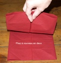 Pliage des serviettes Pliage14