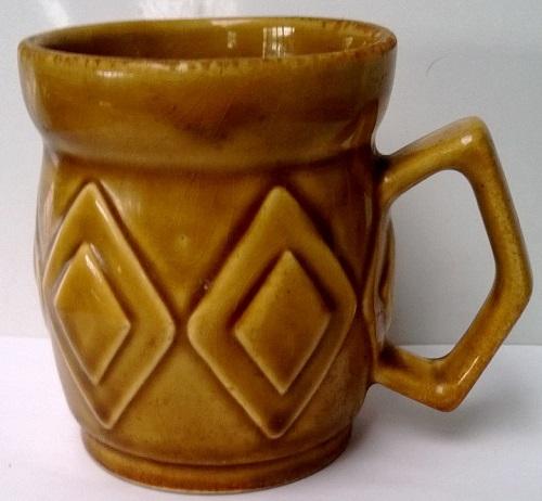 1213 Diamond Handle Coffee Mug 121310