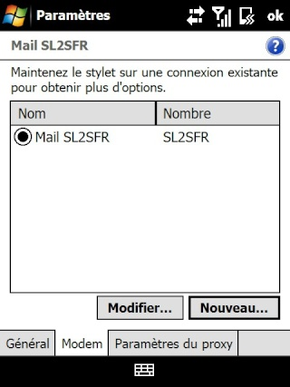 mail iphone - Paramétrage de l'option mail iphone SFR Screen18
