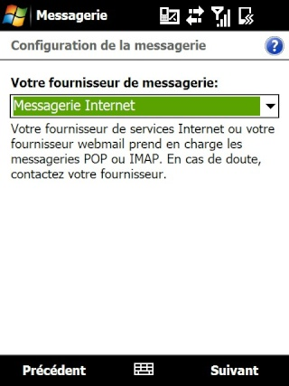 mail iphone - Paramétrage de l'option mail iphone SFR Screen25