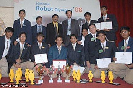 جائزة ألومبياد الروبوتات تذهب لقطر 71105010