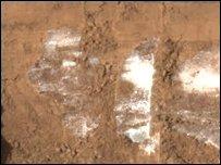 اكتشاف كميات كبيرة من المياه المتجمدة في المريخ _4476510