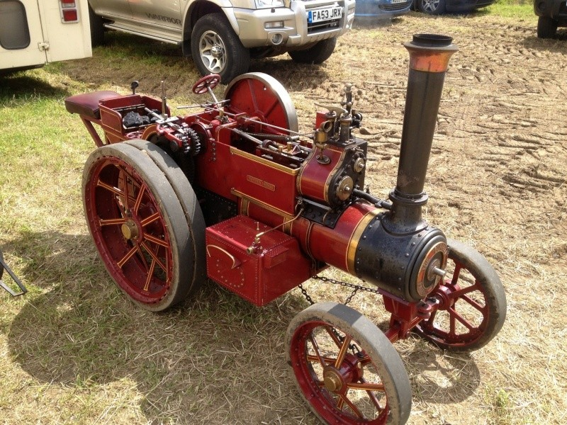 "The Next 4"" Engine - Burrell Single Crank Compound Scc_bu13"