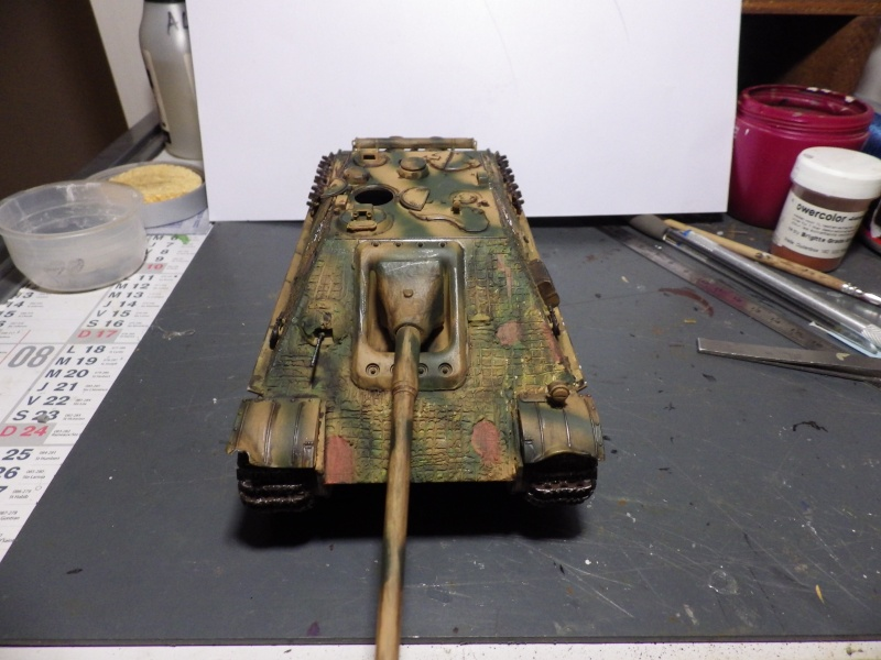 mon jag camouflage normandie et patine terminer Jag510